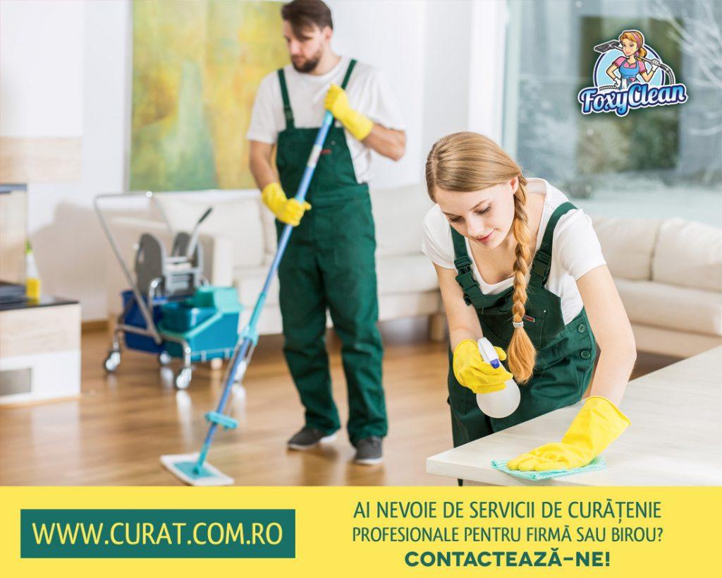 Lansare website Curat.com.ro